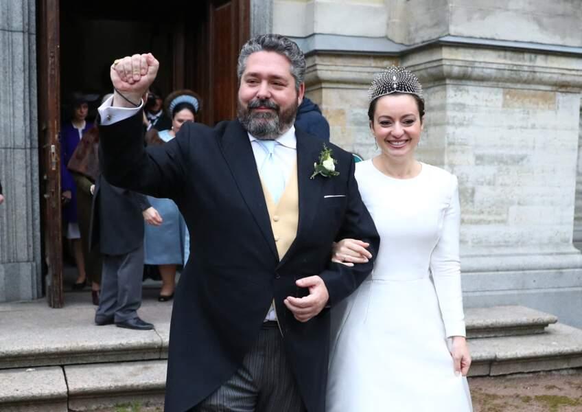 Après s'être rencontrés lors d'une soirée à l'ambassade de France à Bruxelles, le grand-duc de Russie et Rebecca Victoria Bettarini ont scellé leur amour, le 1er octobre 2021.