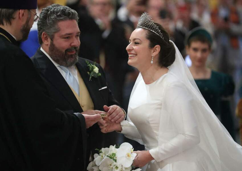 Plus amoureux que jamais, le grand-duc de Russie George Mikhailovich de Russie et  Rebecca Victoria Bettarini entamaient un nouveau chapitre de la vie à deux, le 1er octobre 2021.
