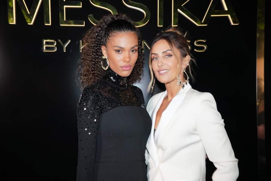 Tina Kunakey et Valérie Messika