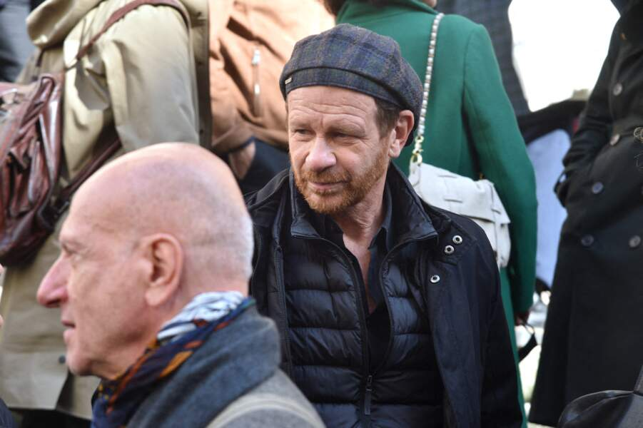 Philippe Lelièvre a accompagné François Florent dans son dernier voyage lors de ses obsèques en l'église Saint-Roch, à Paris, le 4 octobre 2021.
