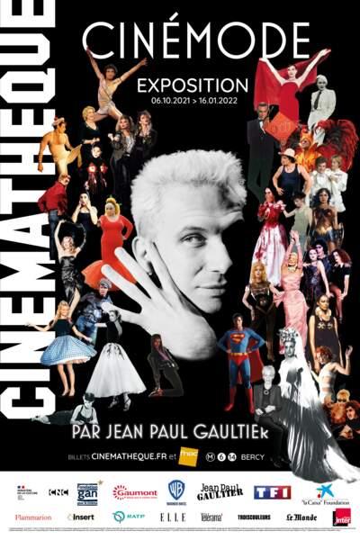 Cinémode par Jean Paul Gaultier, jusqu'au 16 janvier 2022 à la Cinémathèque de Paris