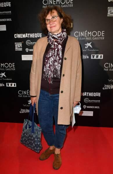 Anne Le Ny faisait partie des happy few à avoir pu visiter l'expo Cinémode Jean Paul Gaultier