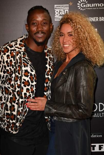 Moussa Nyang et sa femme Gaya à l'ouverture de l'expo Gaultier à la cinémathèque
