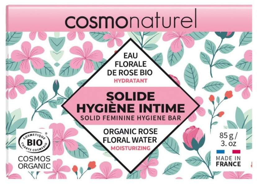Le Solide Hygiène Intime Hydratant, Cosmonaturel, 6,40€, onatera.com