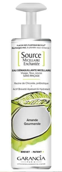Source Micellaire Enchantée Amande Douce, Garancia, 13,90 sur garancia-beauty.com