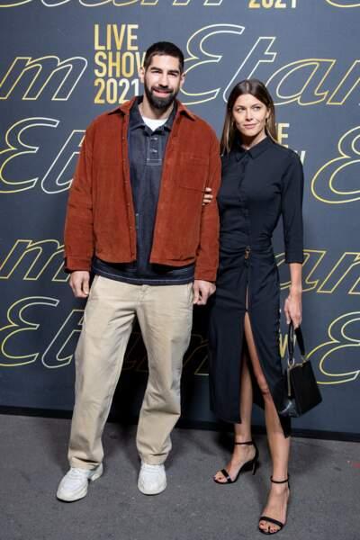 Nikola Karabatic et sa compagne Jeny Priez