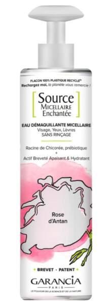 Source Micellaire Enchantée Rose d'Antan, Garancia, 13,90 sur garancia-beauty.com