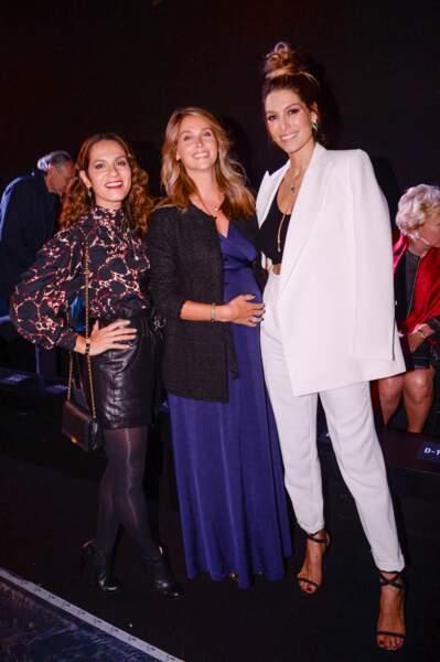 Elisa Tovati, Ophélie Meunier, enceinte et glamour avec Laury Thilleman