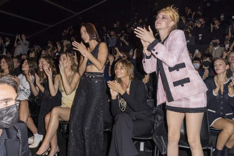 Alma Jodorowsky, Charlotte Casiraghi, Kristine Froseth, Lily-Rose Depp, Rebecca Dayan, Carine Roitfeld, Kristen Stewart et Lou Lampros