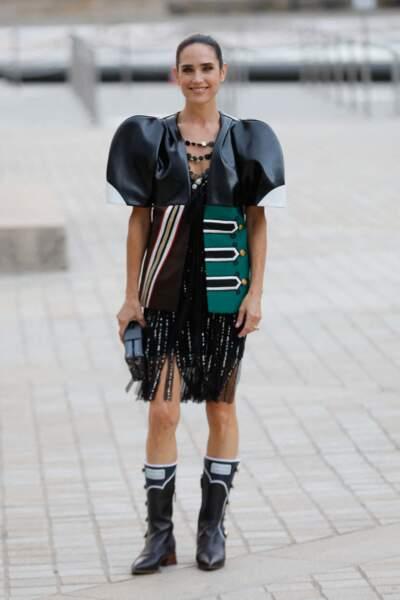 Jennifer Connelly au défilé Louis Vuitton printemps-été 2022