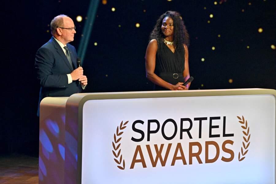 Il s'est rendu la soirée de la 32ème édition des Sportel Awards 2021.