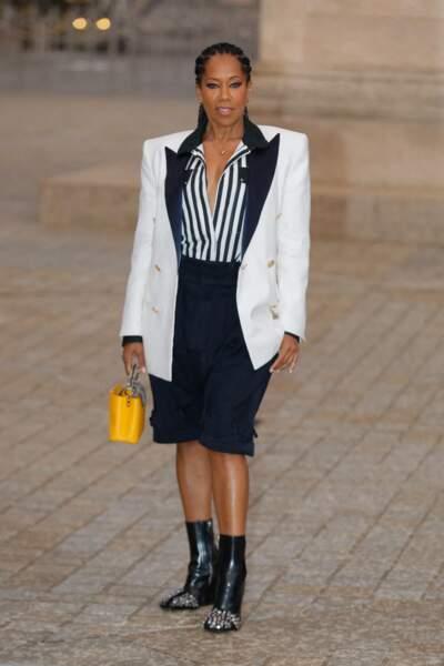 Regina King au défilé Louis Vuitton printemps-été 2022