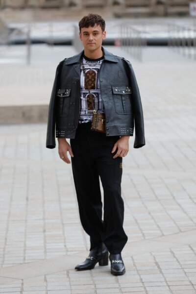 Tom Daley au défilé Louis Vuitton printemps-été 2022