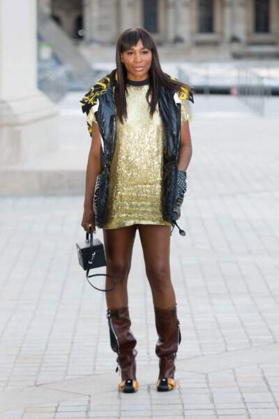 Venus Williams au défilé Louis Vuitton printemps-été 2022