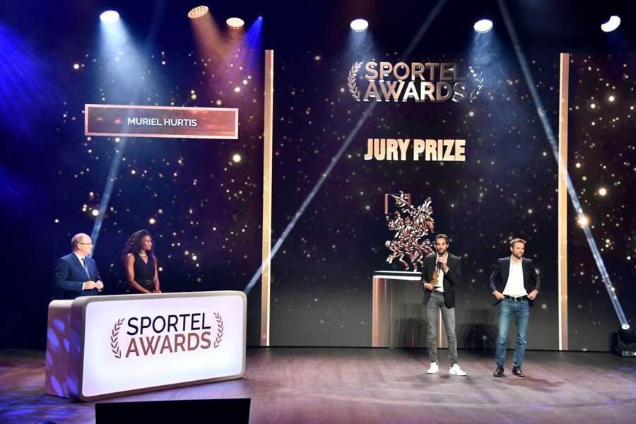 Muriel Hurtis était la présidente du jury des Sportel Awards cette année.
