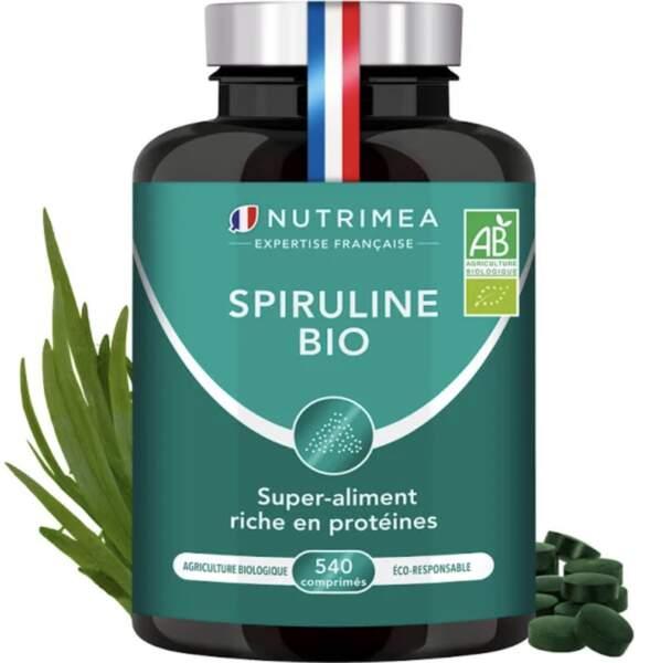 Spiruline Bio (540 comprimés, 6 mois de cure); Nutrimea; 24,90€ sur nutrimea.com