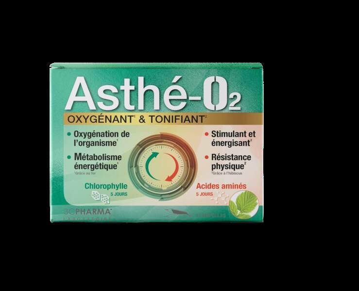 Asthé-O2 Oxygénant Et Tonifiant (2x5 Ampoules); 3 Chênes Laboratoires; 15,90€ en pharmacies et parapharmacies