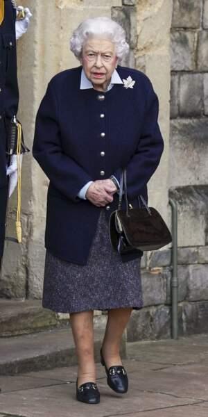 Ce mercredi 6 octobre, la reine Elizabeth II a accueili le Royal Regiment of Canadian Artillery.