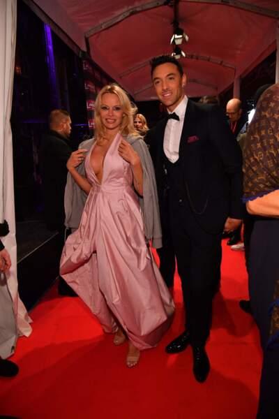 Danse avec les stars : Pamela Anderson et Maxime Dereymez, saison 9, 2018