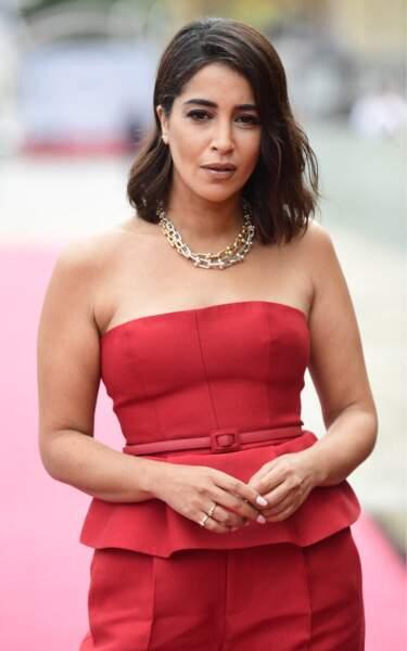L'actrice portait un ensemble Dior pour la présentation des Intranquilles au festival de San Sebastian