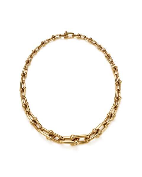 L'un des colliers Tiffany & Co portés par Leïla Bekhti au festival de San Sebastian
