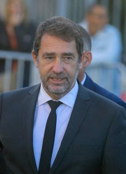 Christophe Castaner était lui aussi présent aux obsèques de Bernard Tapie, en la cathédrale de la Major, à Marseille, le 8 octobre 2021.