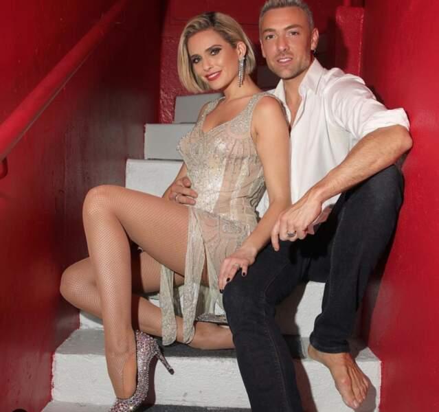 Danse avec les stars : Clara Morgane et Maxime Dereymez, saison 10, 2019
