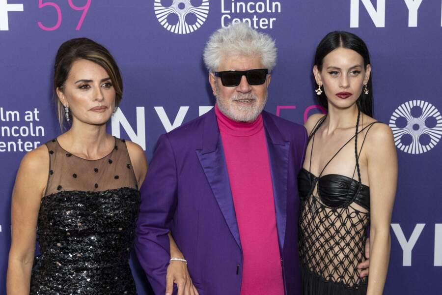 La quadragénaire était divine aux côtés de ses collèges lors du Festival du film de New York ce vendredi 8 octobre.