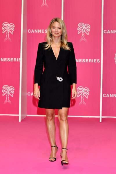 Virginie Efira durant la seconde soirée du 4eme Canneseries
