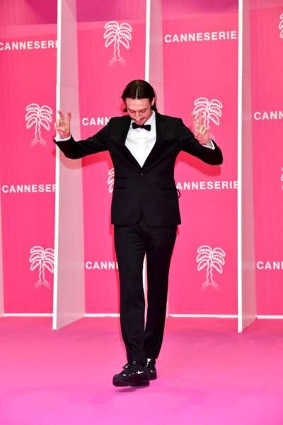 Romeo Elvis durant la seconde soirée du 4eme Canneseries, le 9 octobre