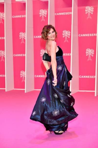 Andrea Frigerio durant la seconde soirée du 4eme Canneseries