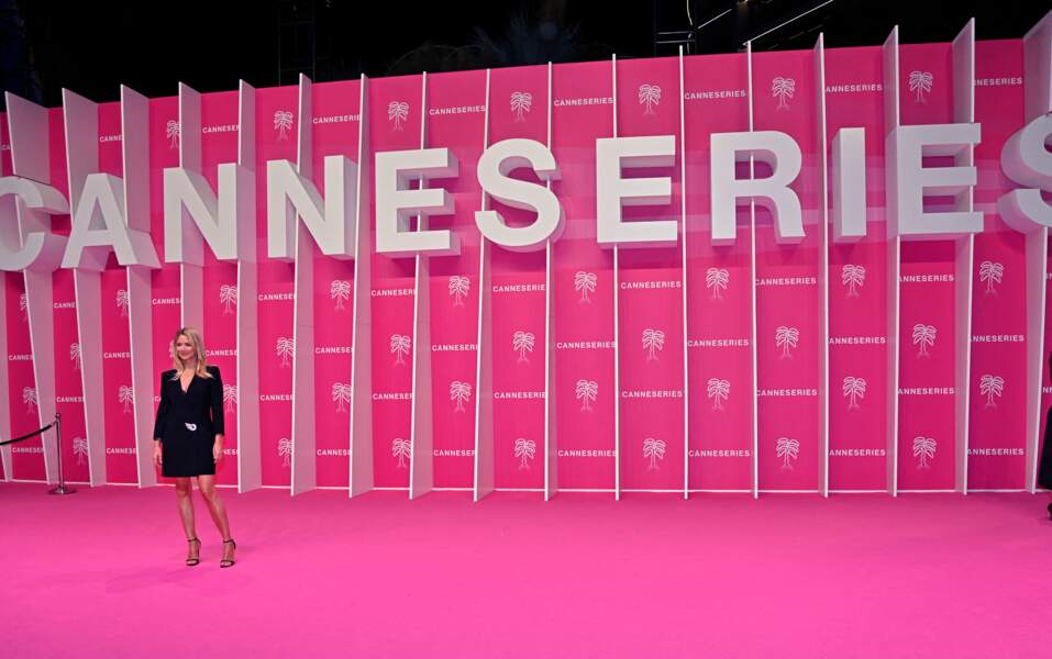 L'actrice belgo-française de 44 ans a foulé le tapis rose du 4eme Canneseries