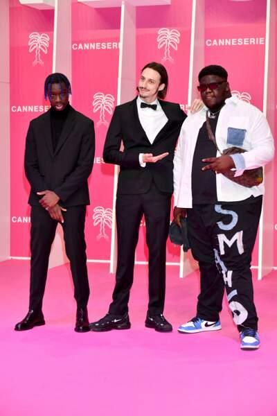 Geeeko, Romeo Elvis et Smahlo étaient également présents à Canneseries