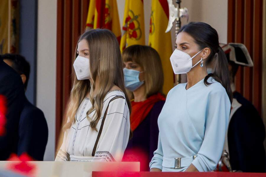 L'infante Sofia d'Espagne participe pour la première fois à un événement officiel sans sa sœur,  Leonor d'Espagne
